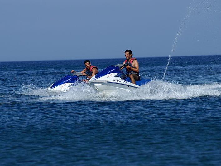 Honolulu Jet Ski Ride & Parasail Adventure Tour